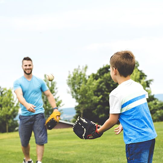 dad and son playing ball (edited)
